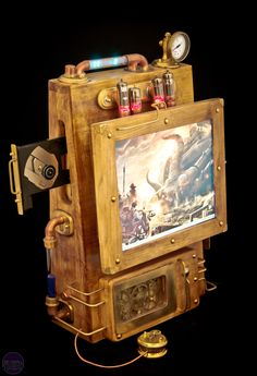 steampunk pc    http://www.bit-tech.net/modding/2011/12/23/mod-of-the-year-2011/19