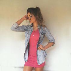 """9,438 Me gusta, 78 comentarios - Amanda Hummer (@hummer_aj) en Instagram: """"Um ótimo fds pra nós! vestidinho lindo da @benis_moda """""""