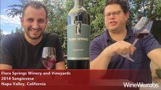 2014 Flora Springs Sangiovese Napa Valley California Red Wine https://www.florasprings.com/ https://www.facebook.com/wineweirdos/