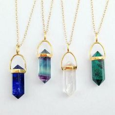 Stargaze jewelry- would absolutely love the blue to purple one