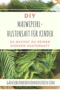 DIY | Maiwipferl Hustensaft für Kinder & Familie | Anleitung für selbstgemachten Hustensaft | mit nur drei Zutaten | Kräutertipp