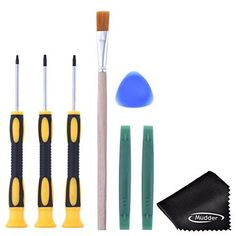 Mudder T6 T8 T10 Screwdriver Set and Open Pry Tool with Cleaning Brush for Xbox One Xbox 360 Controller *** You can find more details by visiting the image link.Note:It is affiliate link to Amazon. #inspire