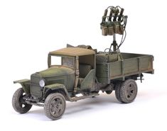 This is Tamiya's new 1:48 scale Russian 1.5 ton Cargo Truck Model 1941, A.K.A. GAZ-MM.