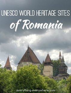 There are seven UNESCO World Heritage Sites in Romania. All but one of the sites are cultural. Danube Delta is a natural site. Travel Tours, Europe Travel Tips, European Travel, Shopping Travel, Budget Travel, Travel Ideas, Danube Delta, Romania Travel, Europe Holidays