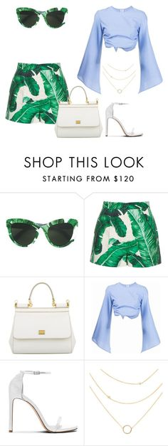 """Untitled #3127"" by teastylef ❤ liked on Polyvore featuring Dolce&Gabbana and Rosie Assoulin"