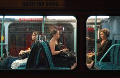 London, Passengers.  Homage to Edward Hopper's Nighthawks painting. //  | Flickr: By Naughton321