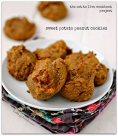 The Eat to Live Cookbook Project: Sweet Potato Peanut Cookies