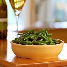 Lemon-Dill Green Beans - EatingWell.com