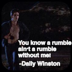 #TheOutsiders (1983) - #DallasWinston #Dally