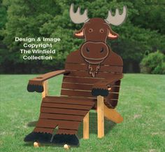 Moose Adirondack Chair Plans