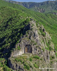 """Hidden away inside a mountainous outcropping of northern Turkey is an ancient structure known as the ""Tomb of Kapilikaya. Ancient Mysteries, Ancient Ruins, Places To Travel, Places To See, Interesting Buildings, Ancient Architecture, Abandoned Places, Beautiful Places, Scenery"