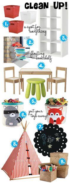 Organzied and fun playroom