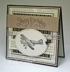 Stamps:  Plane & Simple, Perfectly Penned  Paper:  Early Espresso, Soft Suede, Very Vanilla, Crumb Cake, Mocha Morning DSP, First Edition DSP  Ink:  Early Espresso  Accessories:  Paper Piercing Tool/Mat Pack, Early Espresso Baker's Twine, Oval Cutter, Small Binder Clip