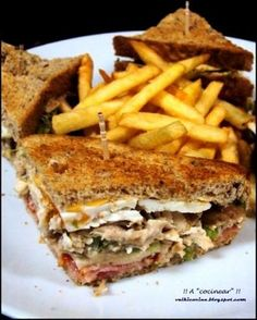*.* 5 recetas fáciles de sándwiches ^^  Pinterest | https://pinterest.com/lamiapiccolacucin