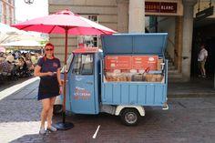 Milo and Hectors ice-cream sandwiches in Covent Garden