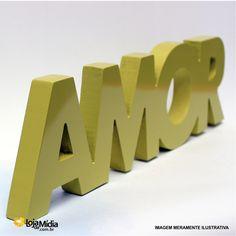Mais um modelo de nossas letras caixa. Perfeito pra decorar.