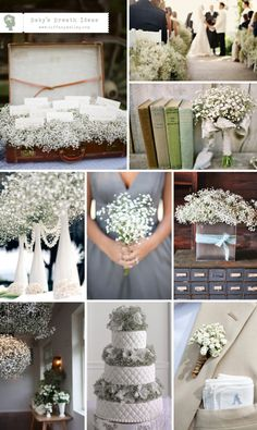 I love baby's breath and really don't care for other flowers so this is perfect!