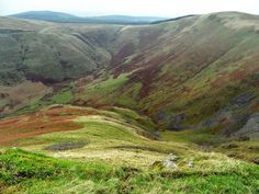 The Devil's Beef Tub - The Devil's Beef Tub is a deep, dramatic hollow in the hills north of the Scottish town of Moffat.  Used by the Border Reivers to hide stolen cattle - first by the Moffat family and later the Johnstones.  (Wikipedia pic) The devils in question being the Border Reivers, especially the Johnstones.