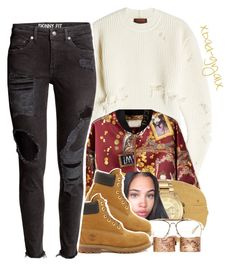 """""""12/19/16"""" by xbad-gyalx ❤ liked on Polyvore featuring adidas Originals, MICHAEL Michael Kors, CÉLINE, Maison Margiela and Timberland"""