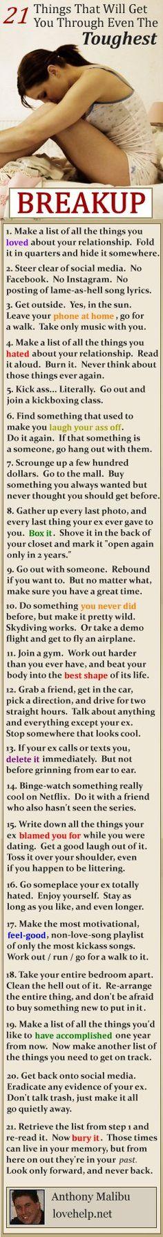 21 Ways to Get Over Your Ex Girlfriend  #ExGirlfriend #ExBack #GetHerBack