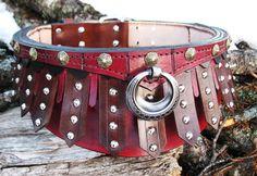 Gladiator Collar. $220.00, via Etsy.