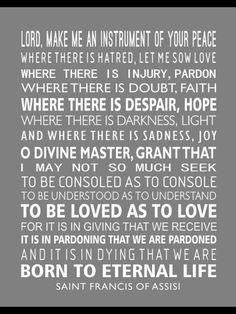 A wise prayer......