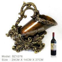 Resin Sculpture Wine Bottle Holder