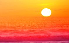 pink summer, sunni place, endless summer, sunris, orange sunset, color stories, beauti sunset, beach, summer paradise