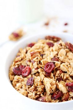 Brown Butter Maple Granola | Land O'Lakes