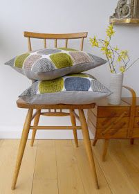 Spring cushions by roddy and ginger
