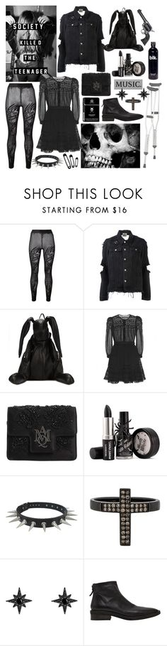 """""""you make me wanna die"""" by nothingisnormal ❤ liked on Polyvore featuring Filles à papa, UNIF, Christopher Ræburn, Étoile Isabel Marant, Alexander McQueen, Revolver, Lynn Ban, Joma and Marsèll"""