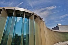 Colt Shadoglass is a solar shading system with fixed or controllable architectural glass louvres. Facade Pattern, Solar Shades, Facade Architecture, Louvre, House Design, Building, Glass, Facades, Shutters