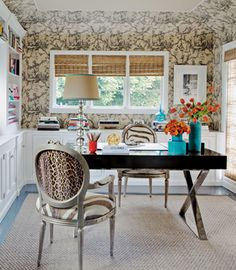 Chinoiserie Chic: Animal Prints and Chinoiserie