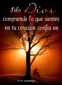 Dios puede encargarse de las dudas, el enojo, el temor, el dolor, la confusión y de todas las preguntas que tengas Gods Love Quotes, Quotes About God, Wisdom Quotes, Bible Quotes, Bible Verses, Healing Words, Positive Messages, Religious Quotes, Spanish Quotes