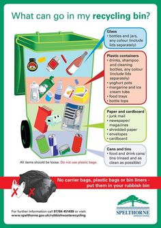 Recycling To Keep Our Planet Healthy – Recycling Information Save Mother Earth, Save Our Earth, Recycling Facts, Recycling Bins, Reduce Reuse Recycle, How To Recycle, Things You Can Recycle, Environmental Education, Eco Friendly House