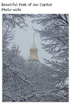 Capitol in winter