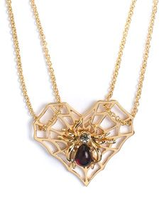 Destiny Spider necklace