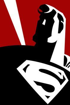 Superman by ~larsloenstrup on deviantART