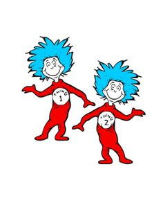 Dr Seuss Coloring Pages Thing 1 And Thing 2 Dr. Seuss, Dr Seuss Week, Dr Seuss Pictures, Dr Seuss Images, Dr Seuss Clipart, 1 Clipart, Dr Seuss Printables, Dr Seuss Coloring Pages, Thing One Thing Two