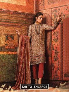 2d57c9cefe Al Karam Festive Spring Summer Collection Design 9 2019 Price in Pakistan  famous brand online shopping, luxury embroidered suit now buy online &  shipping ...