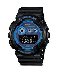 G-Shock Face Color Digital Watch, 55mm