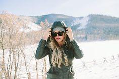 Army Green winter coat