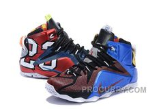 """b2a2865f588 Nike LeBron 12 """"What The"""" Multi-Color Multi-Color For Sale Discount"""