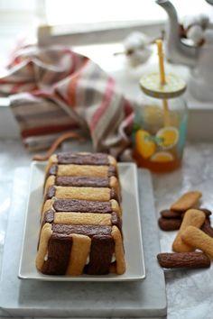 Torta gelato con Pavesini e Nutella   AlchiMia Profiteroles, Latte, Waffles, Buffet, Cereal, Cheesecake, Cooking, Breakfast, Desserts