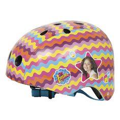 Disney Soy Luna helm  Met deze kleurrijke Soy Luna-helm van Disney is je hoofd altijd goed beschermd tijdens het fietsen of skaten!  EUR 29.99  Meer informatie