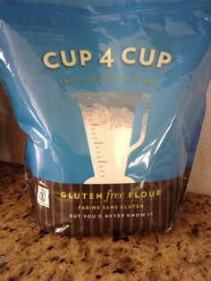 Cup 4 Cup Gluten Free Flour -- I purchase this item from Williams-Sonoma