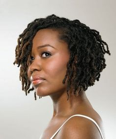 Love this cropped look for locks. First saw this in the Essence Magazine and fell in love...might be my next move :-)