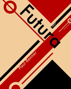 Images For > Bauhaus Poster Futura