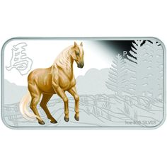 2014 Colorized Australian Horse Silver Rectangle Sets l JM Bullion™ Creature Comforts, Silver Bars, Silver Coins, Moose Art, Creatures, Horses, Stuff To Buy, Australia, Animals
