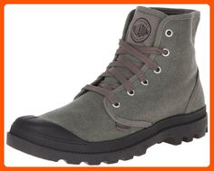 Palladium Men's Pampa Hi Canvas Boot,Stonewash Metal,7.5 M US - Fun stuff and gift ideas (*Amazon Partner-Link)